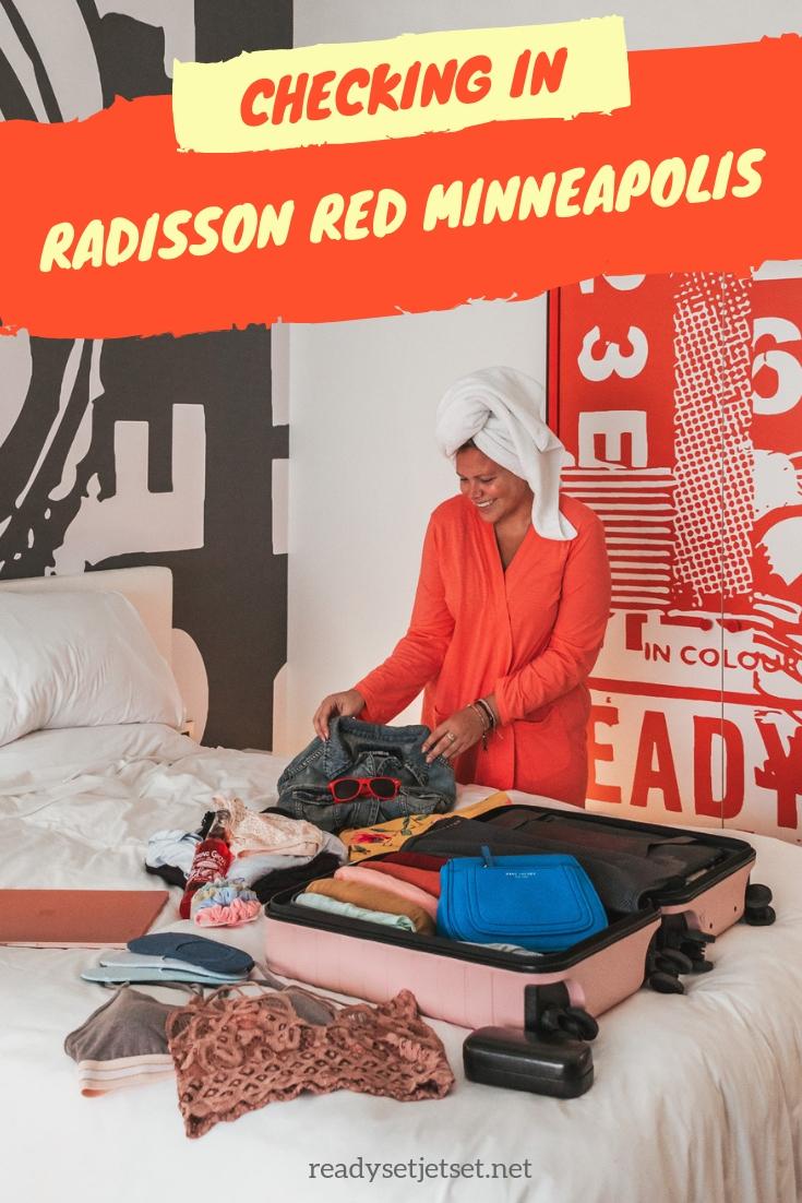 Checking In: The Radisson Red Downtown Minneapolis // www.readysetjetset.net #readysetjetset #minneapolis #minnesota #hotels #hotelreview #blogpost