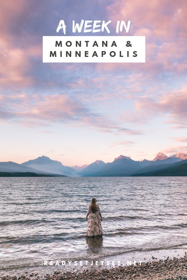 A Week In Montana and Minneapolis // www.readysetjetset.net #readysetjetset #minneapolis #minnesota #blogpost #montana #glaciernp // In partnership with Radisson Rewards, I spent a week exploring Montana (Glacier National Park) and Minneapolis. Check out this guide to see how we booked everything with Radisson Rewards points to plan the ultimate adventure.