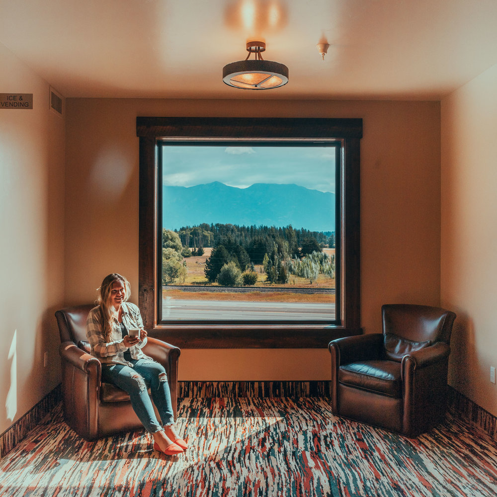 Inside the Country Inn and Suites by Radisson in Kalispell, Montana
