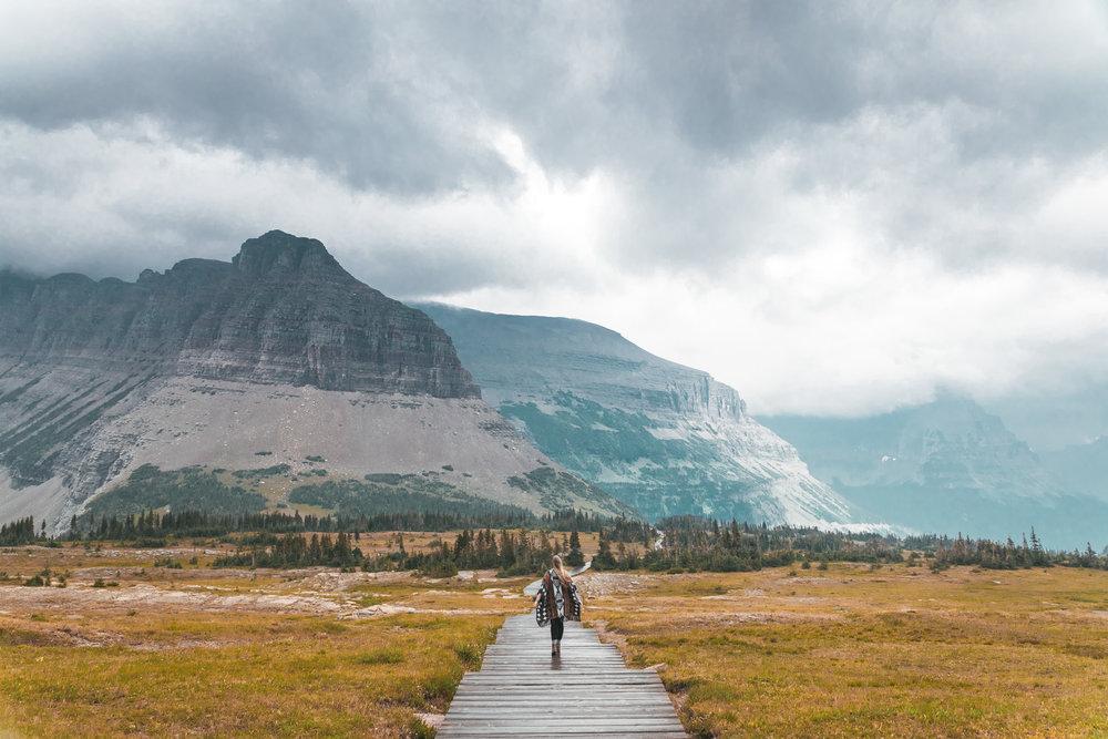 Hike to Hidden Lake Overlook in Glacier National Park Montana