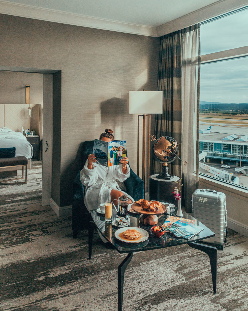 The Jade Executive Suite at Fairmont Vancouver Airport // The Quick Guide to Visiting Vancouver, BC #readysetjetset