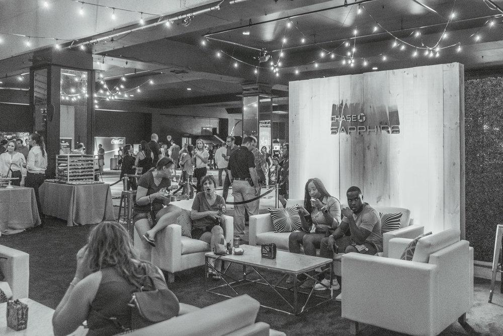 Hotel Thrillist Nashville Chase VIP Lounge // A Weekend at Hotel Thrillist #readysetjetset