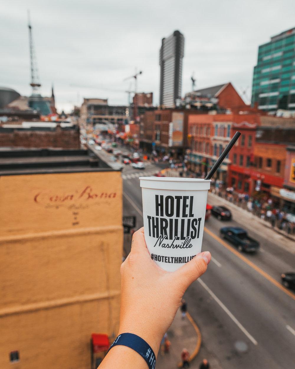 Hotel Thrillist Nashville at Jason Aldean's Bar // A Weekend at Hotel Thrillist #readysetjetset