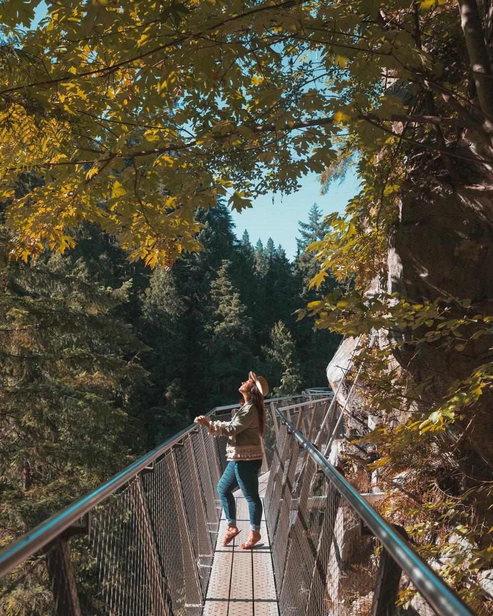 CLIFFWALK at Capilano Suspension Bridge Park // The Quick Guide to Visiting Vancouver, BC #readysetjetset