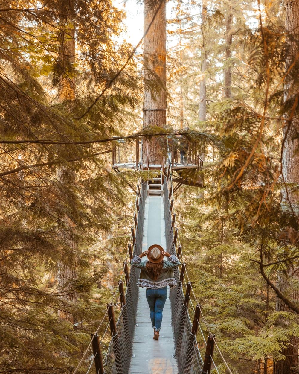 Capilano Suspension Bridge Park // The Quick Guide to Visiting Vancouver, BC #readysetjetset