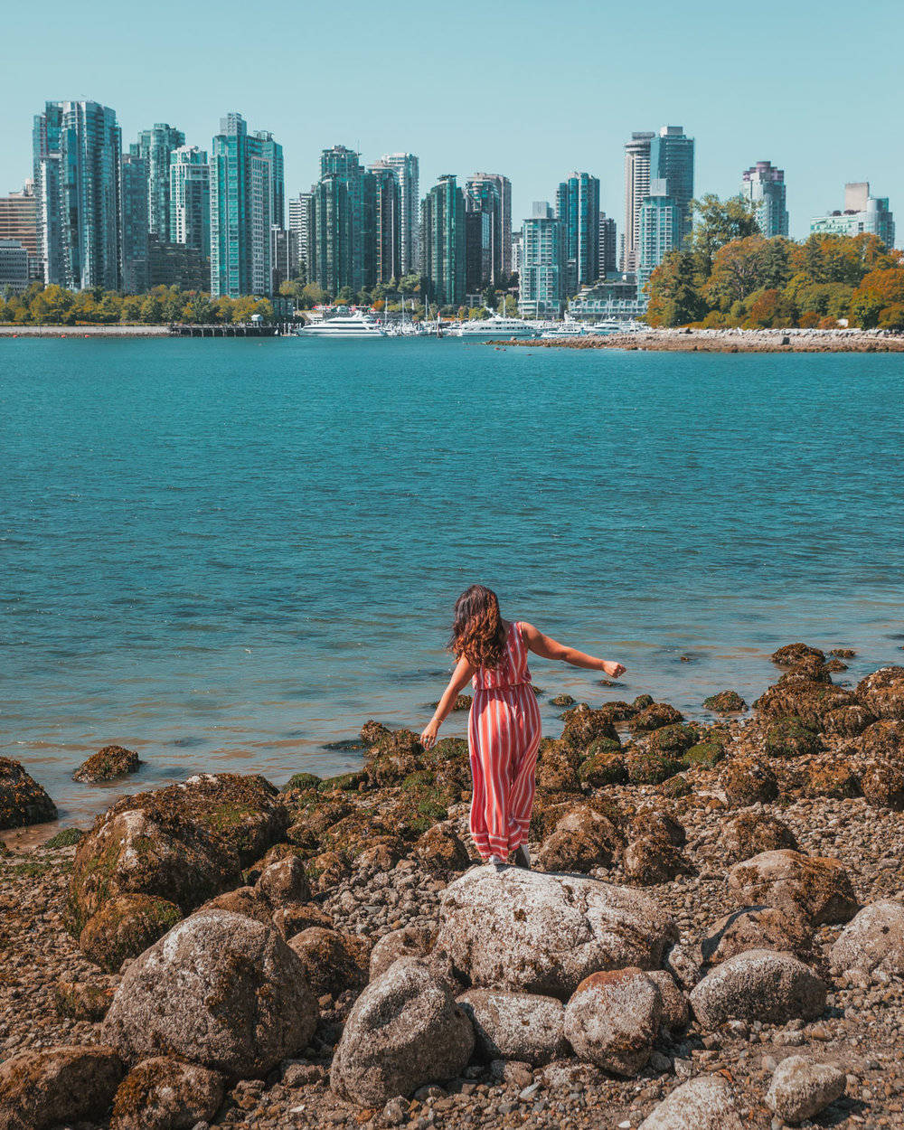 Views from Stanley Park // The Quick Guide to Visiting Vancouver, BC #readysetjetset