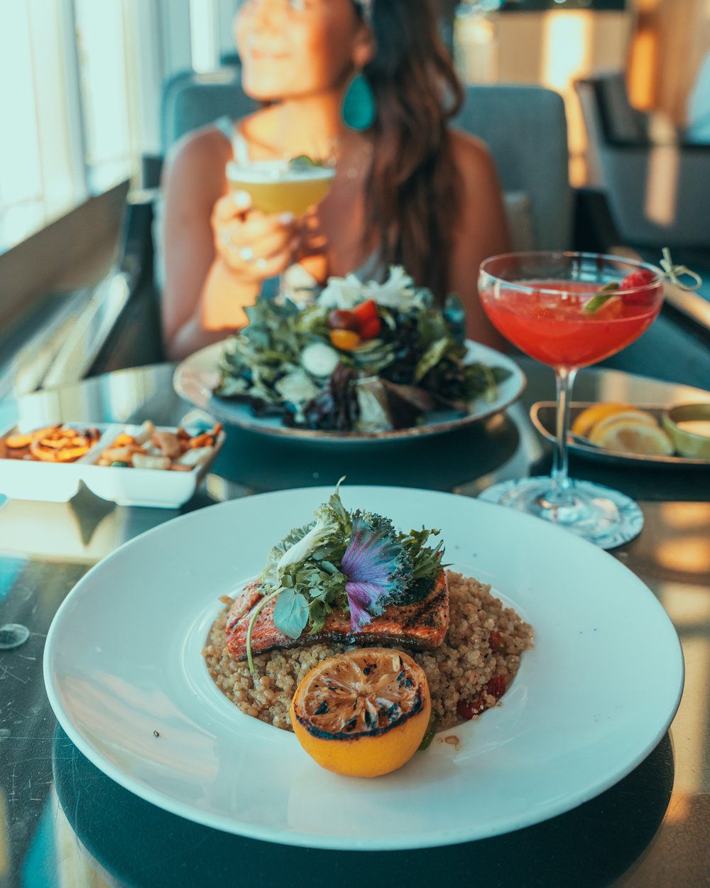 Dinner at Jetside Bar at Fairmont Vancouver Airport // The Quick Guide to Visiting Vancouver, BC #readysetjetset