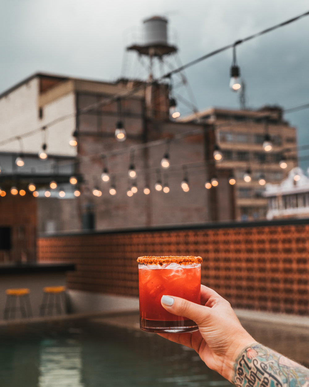 Rooftop Lounge Bar at Downtown México // The Most Instagrammable Spots in Mexico City #readysetjetset