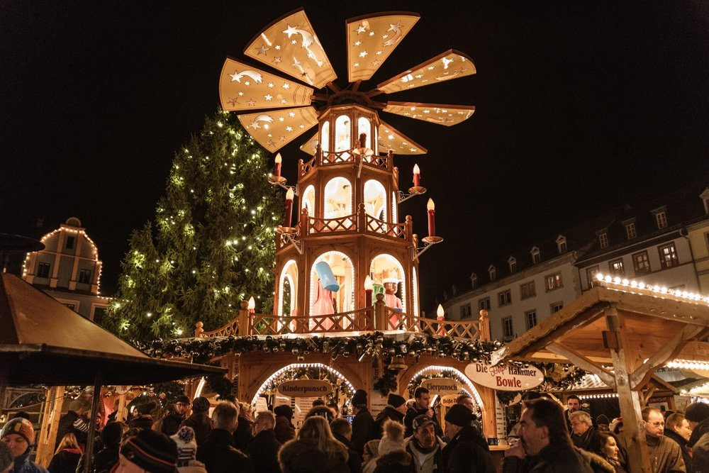 Weimar Christmas Market // German Christmas Markets and Beyond: A Trip to Thuringia in December