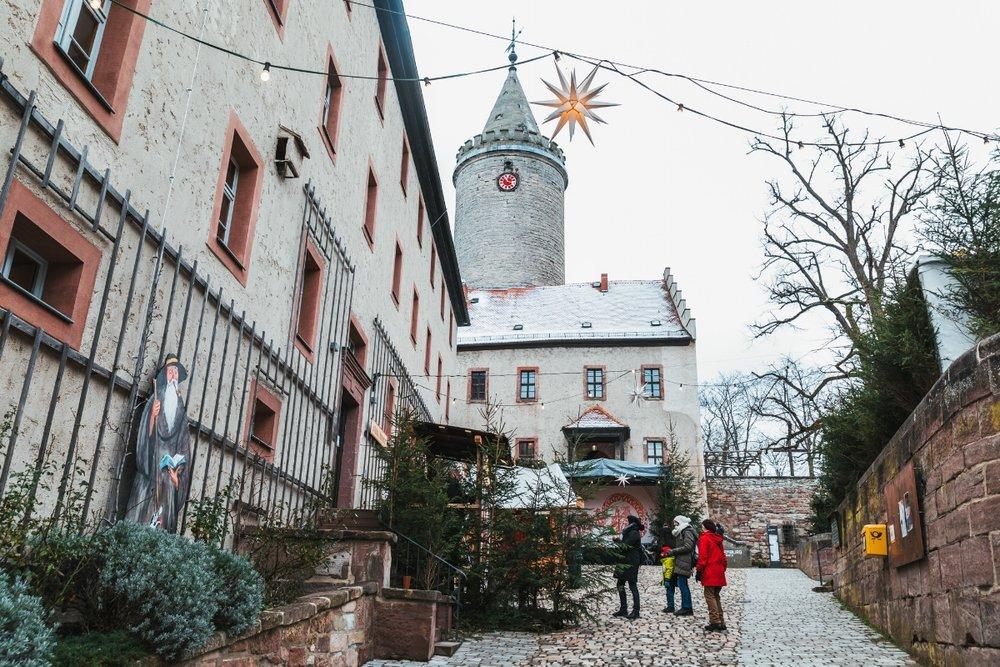 Entering Leuchtenberg Castle