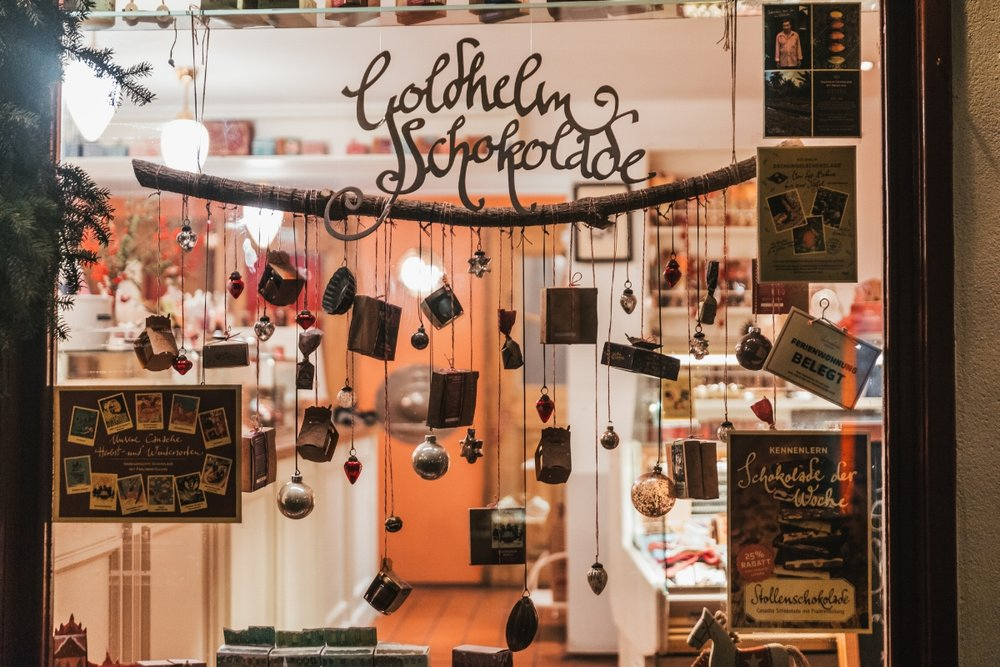 Goldhelm Schokolade // German Christmas Markets and Beyond: A Trip to Thuringia in December