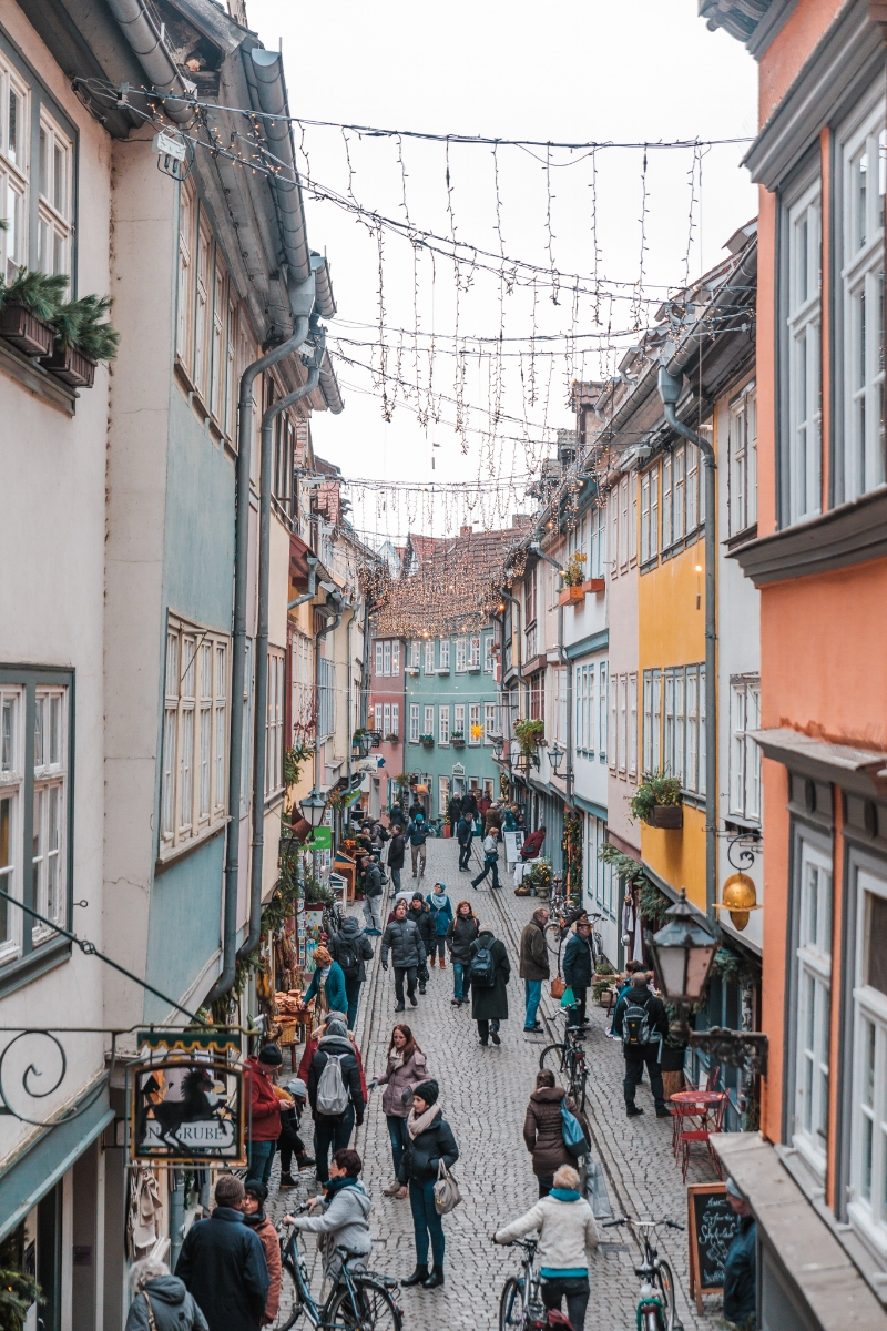 Krämerbrücke in Erfurt // German Christmas Markets and Beyond: A Trip to Thuringia in December