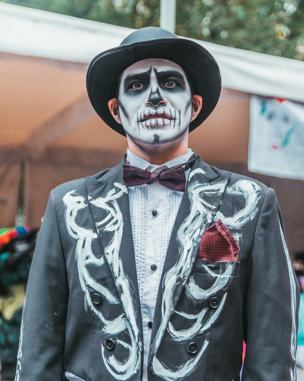 Mexico City Day of the Dead Parade // What to Do In Mexico City for Day of the Dead // www.readysetjetset.net #readysetjetset #mexicocity #dayofthedead #traveltips #blogtips