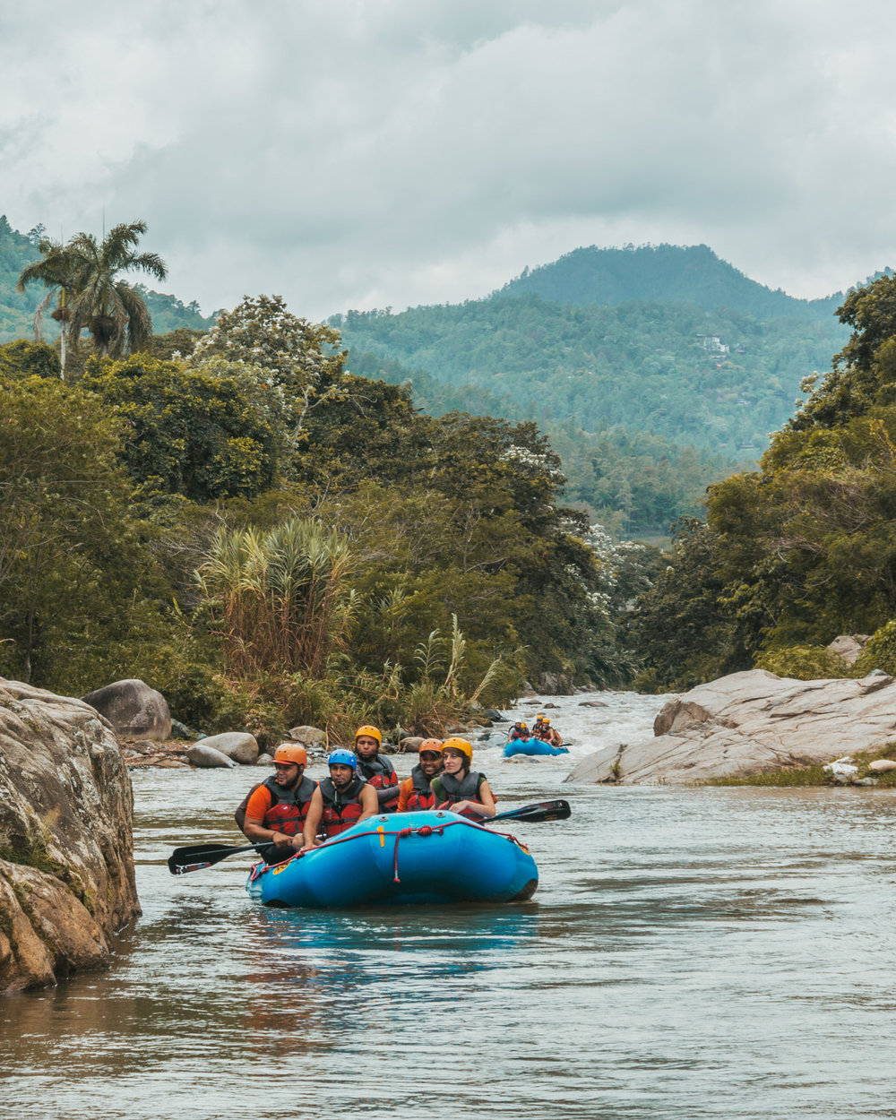 Whitewater Rafting // The Adventure Guide to Jarabacoa, Dominican Republic #readysetjetset #travel #bloggingtips #traveltips #caribbean