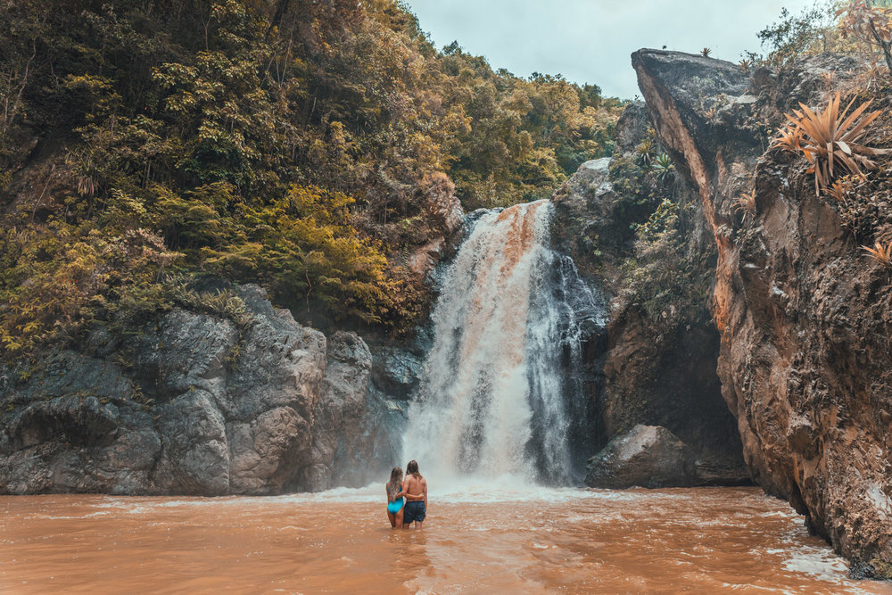 Salto Baiguate Waterfall // The Adventure Guide to Jarabacoa, Dominican Republic #readysetjetset #travel #bloggingtips #traveltips #caribbean