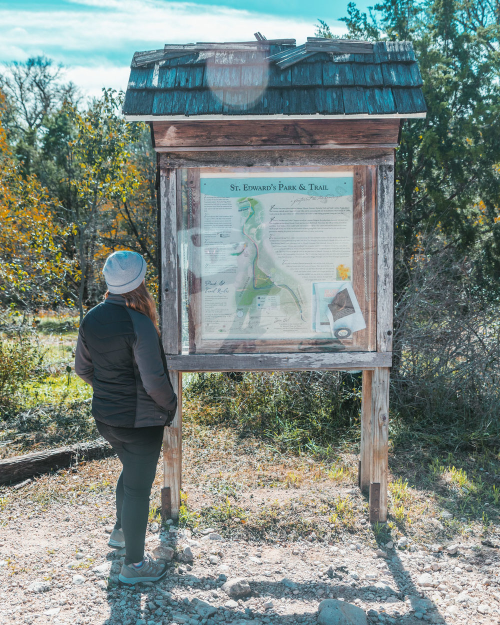 St. Edward's Park and Trail // 5 Austin Hiking Trails to Try This Fall #readysetjetset #outdoors #hiking #blogtips #texas #atx