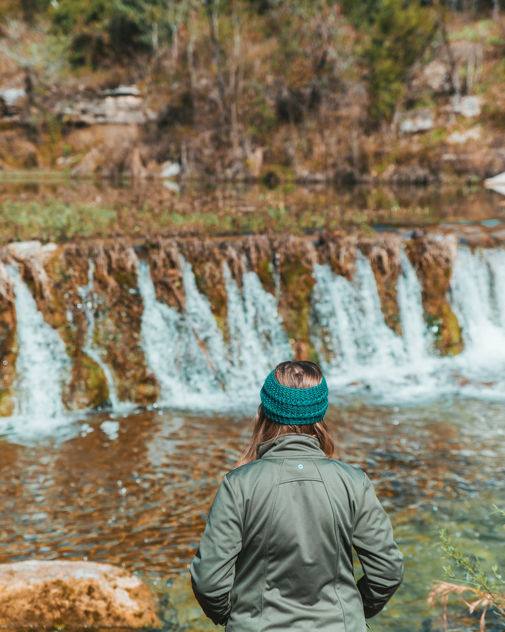 Bull Creek // 5 Austin Hiking Trails to Try This Fall #readysetjetset #outdoors #hiking #blogtips #texas #atx
