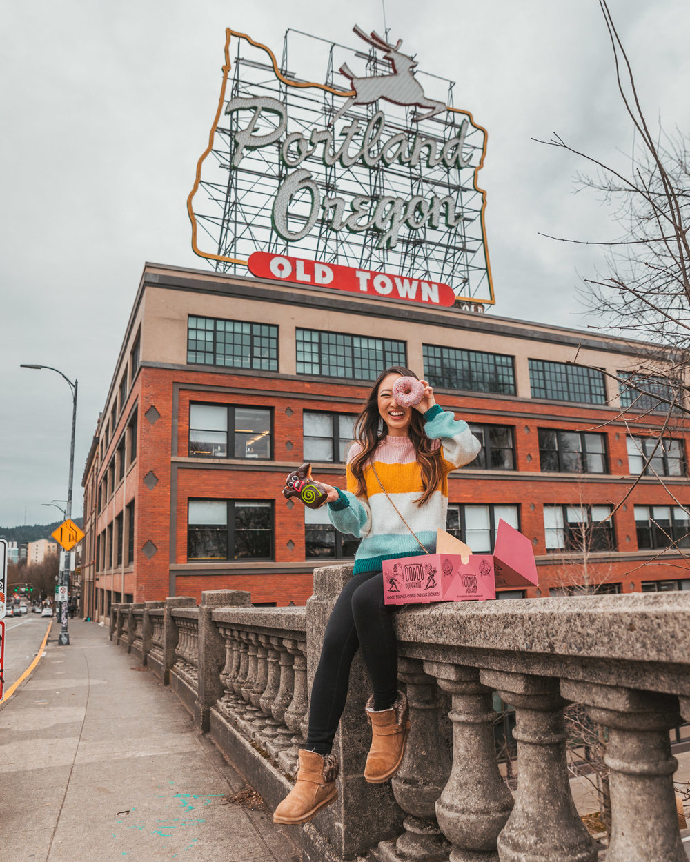 Historic Old Town Portland Sign // The Most Instagrammable Spots in Portland, Oregon // #readysetjetset #portland #oregon #pdx #pnw #blogpost #photoguide