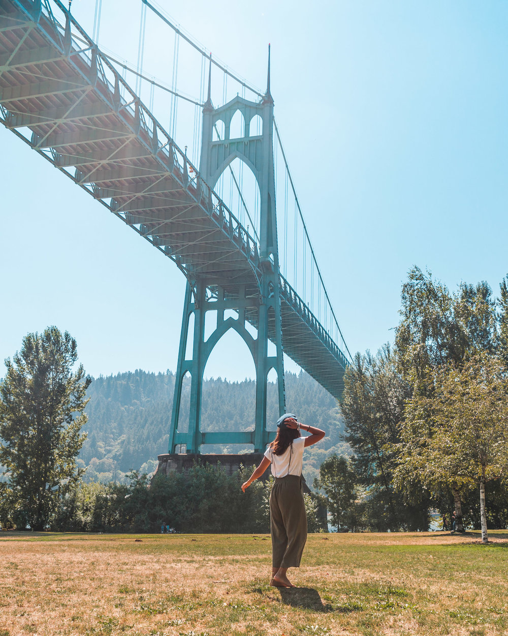 Cathedral Park // The Most Instagrammable Spots in Portland, Oregon // #readysetjetset #portland #oregon #pdx #pnw #blogpost #photoguide