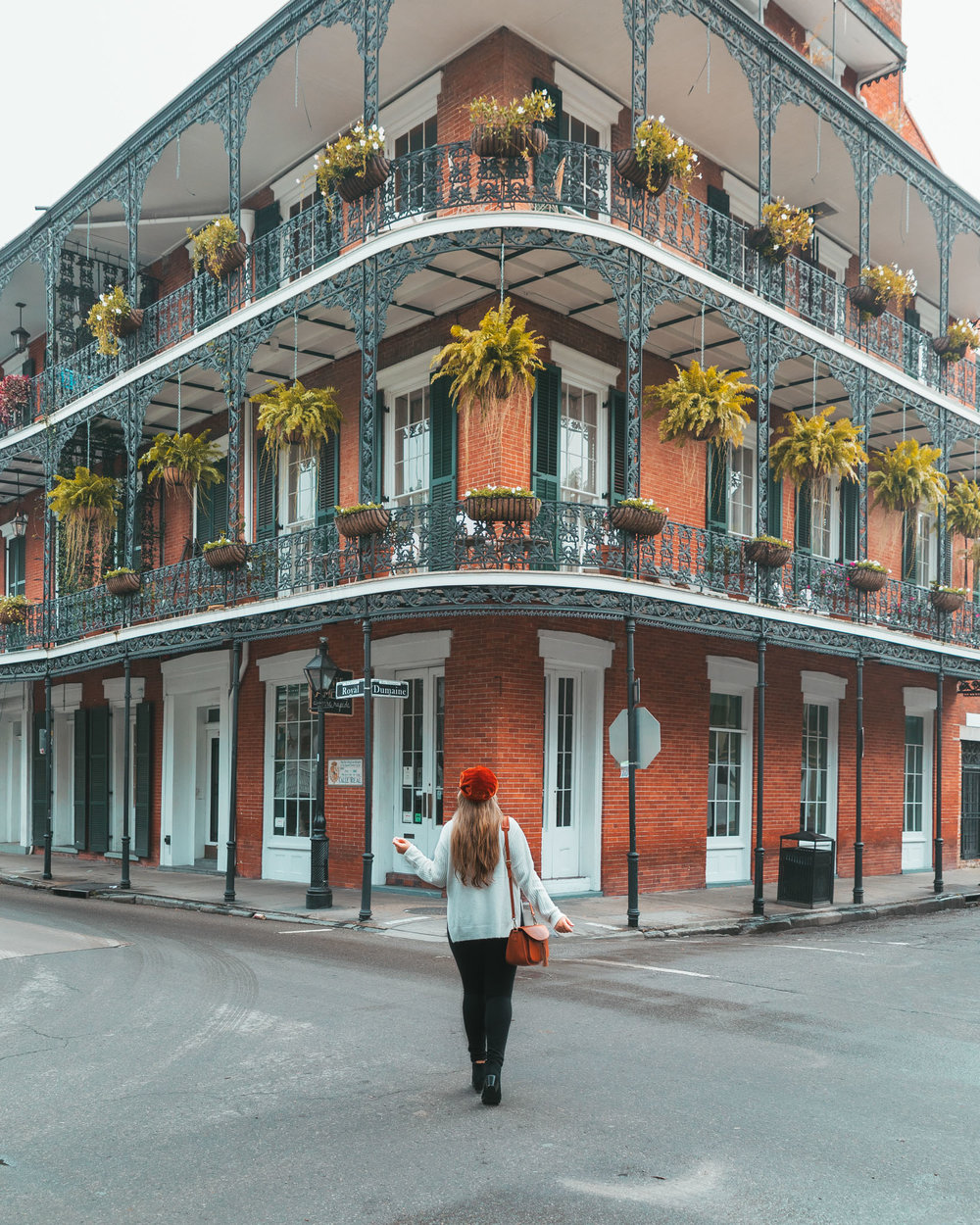 Balconies in the French Quarter // The Most Instagrammable Spots in New Orleans // #readysetjetset www.readysetjetset.net