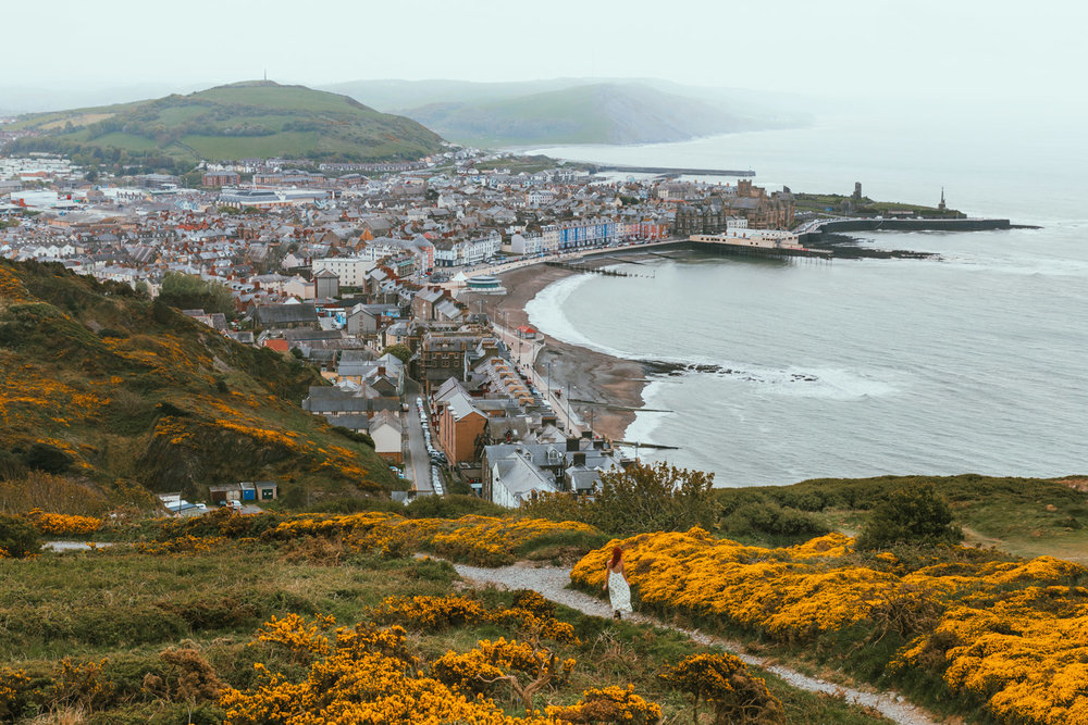 Aberystwyth Cliff Railway // The Most Beautiful Places to Visit in Wales // #readysetjetset #wales #uk #welsh #travel #photospots #blogpost