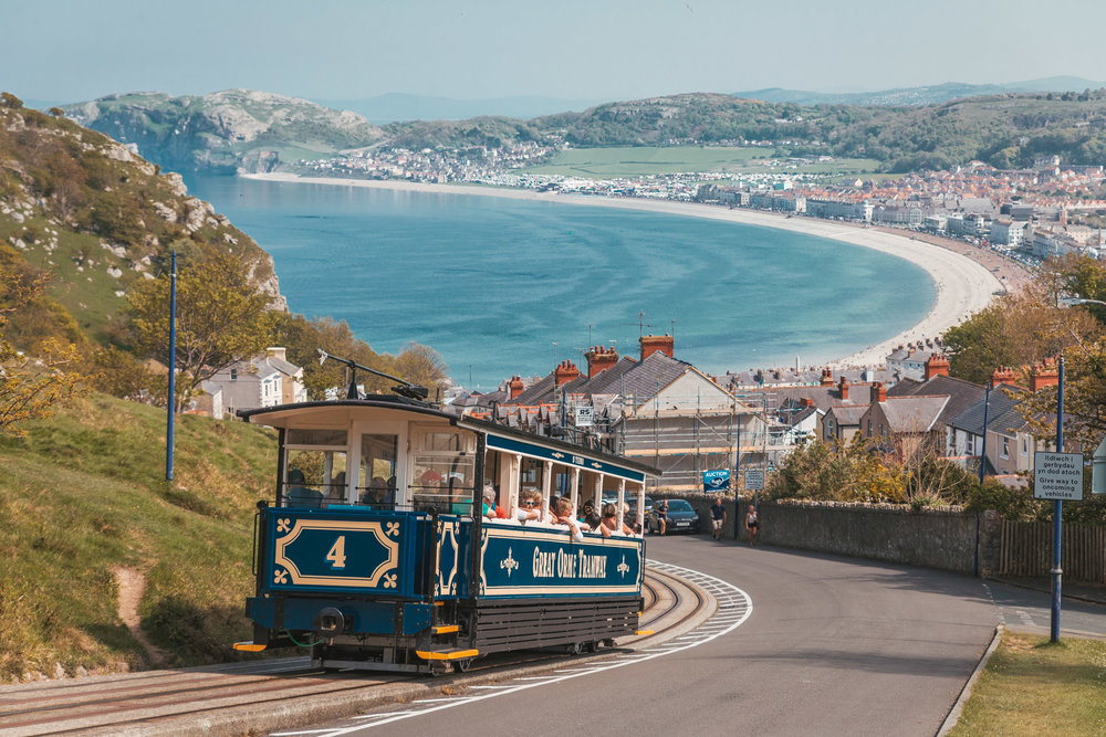 Llandudno Great Orme Tramway // The Most Beautiful Places to Visit in Wales // #readysetjetset #wales #uk #welsh #travel #photospots #blogpost