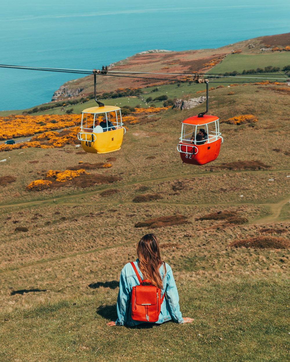 Llandudno Cable Cars // The Most Beautiful Places to Visit in Wales // #readysetjetset #wales #uk #welsh #travel #photospots #blogpost