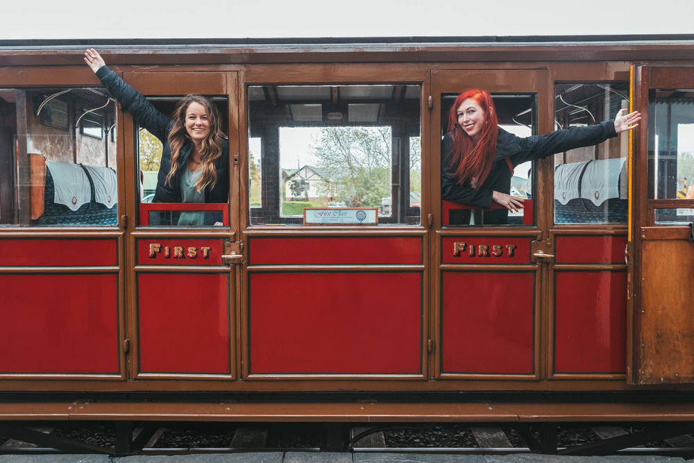 Talyllyn Steam Train // The Most Beautiful Places to Visit in Wales // #readysetjetset #wales #uk #welsh #travel #photospots #blogpost