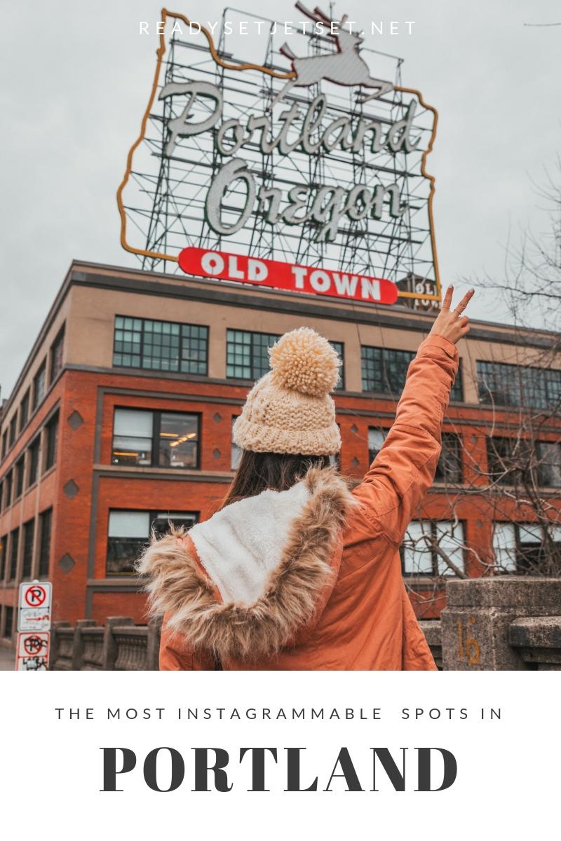 The Most Instagrammable Spots in Portland, Oregon // www.readysetjetset.net  #readysetjetset #portland #oregon #pdx #pnw #blogpost #photoguide