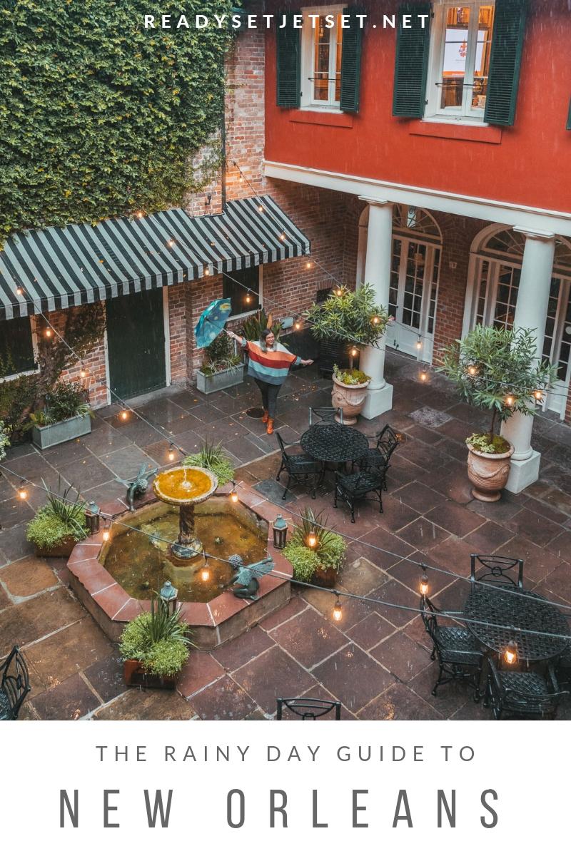 The Rainy Day Guide to New Orleans // www.readysetjetset.net #readysetjetset #NOLA #blogpost #travel #USA