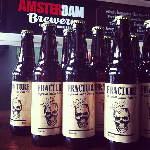 Fracture Beer Labels