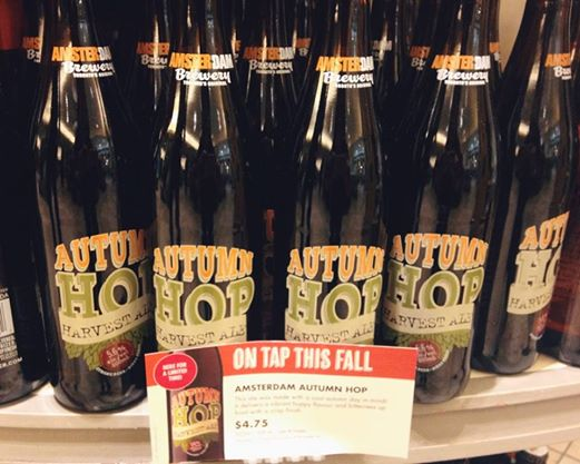 Autumn Hop Label In LCBO