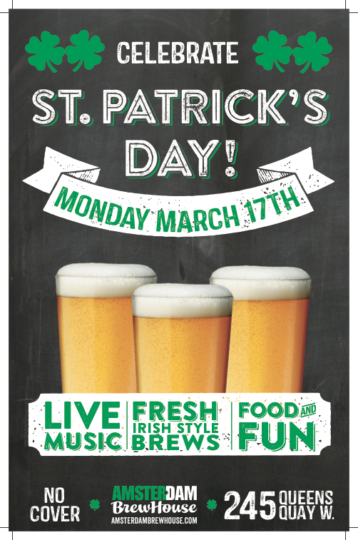 St. Patrick's Day Promo Poster