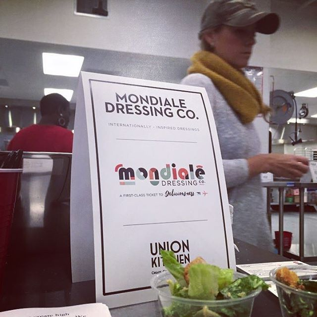 mondiale salad samples at union kitchen