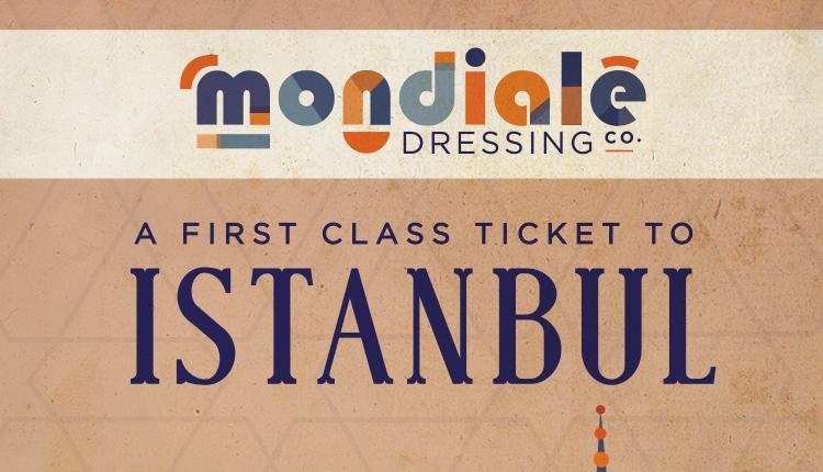 Istanbul Mondiale dressing label