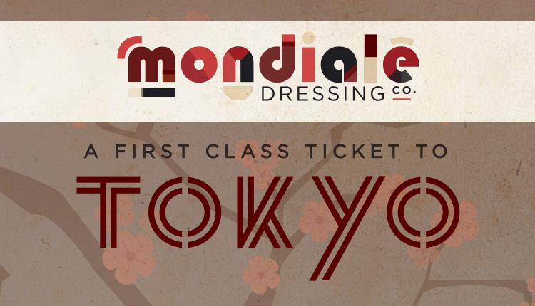 Tokyo Mondiale Dressing Label