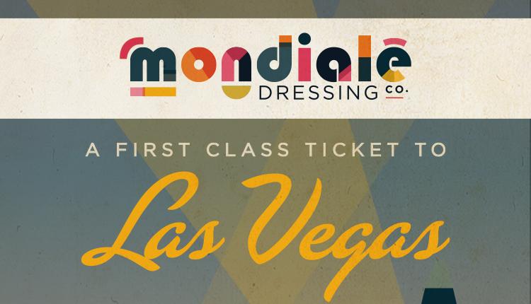 Las Vegas Mondiale Dressing Label