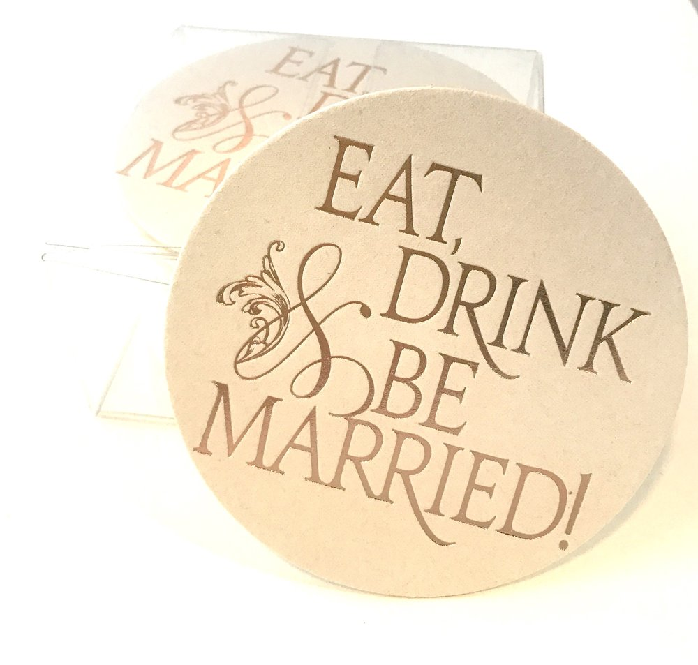 Eat drink and be married rose gold.JPG