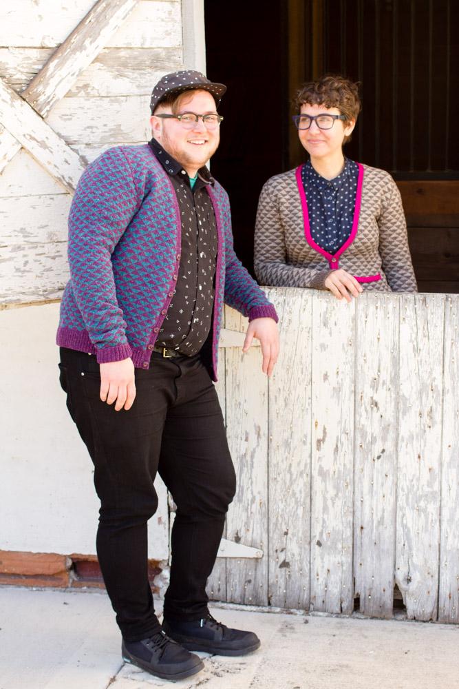 ELLIOT sweater knitting pattern from HANDSOME: Man Sweaters for Every Body // pamelawynne.com