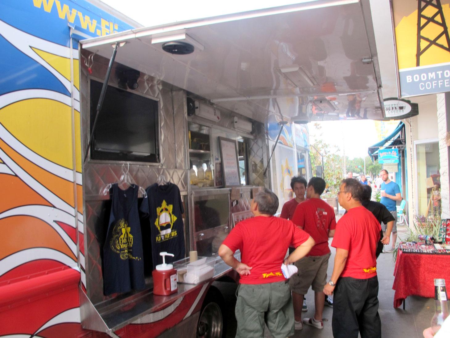 One year anniversary u flip n patties filipino street food