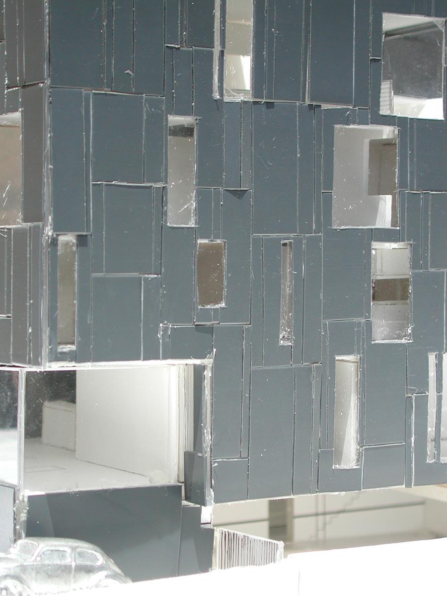 Exterior façade panelization study