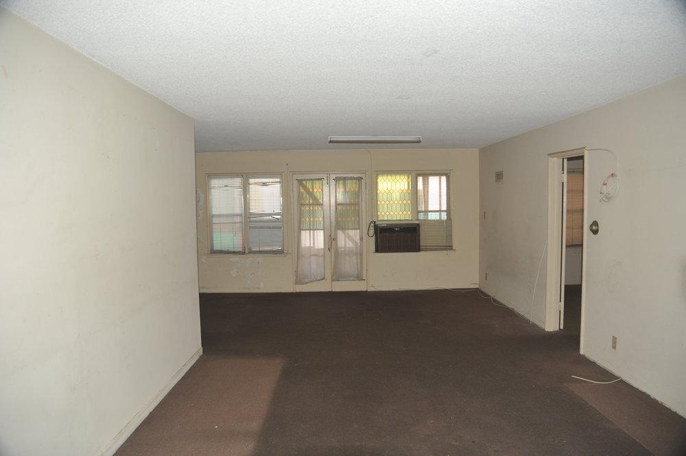 Existing apartment.