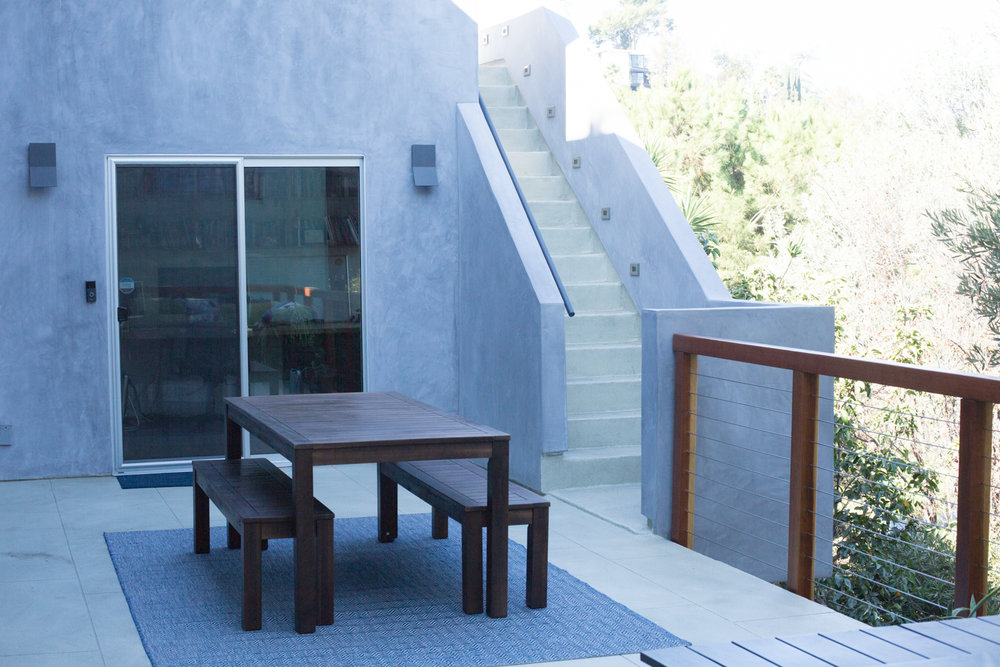 This project was an addition to a house in Echo Park, Los Angeles.