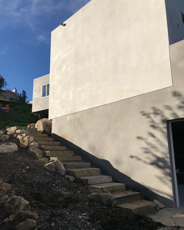 Finishing touches on our project in Santa Barbara.