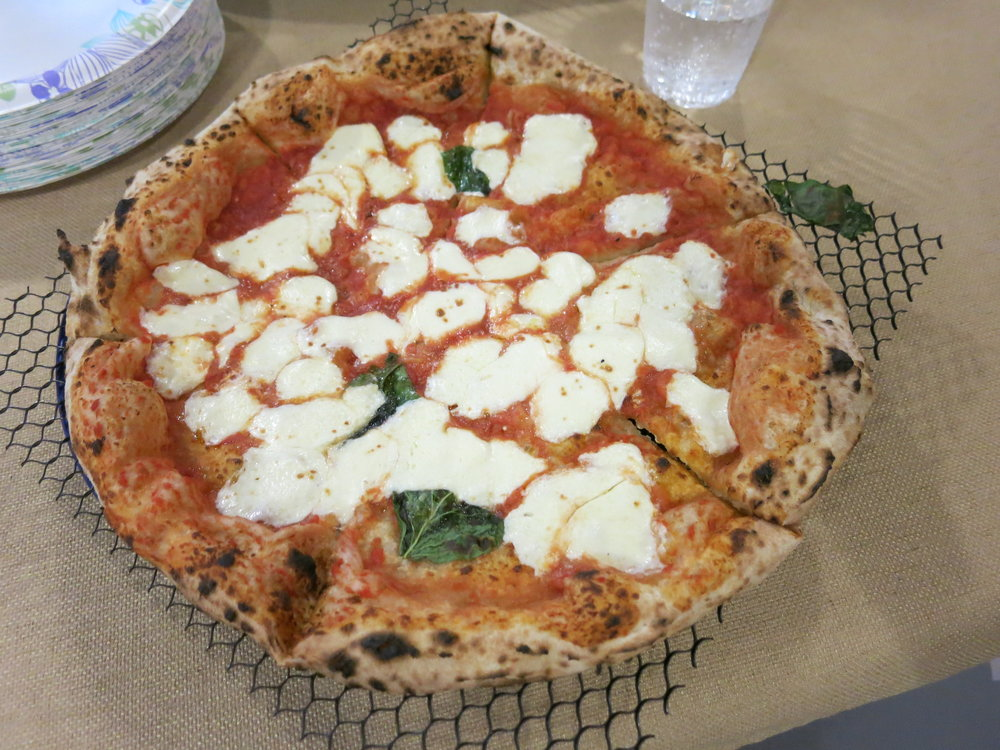 Pizza from Ciao in Chelsea.