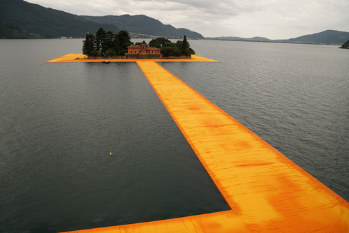 Christo The Floating Piers 2016 Lago Iseo
