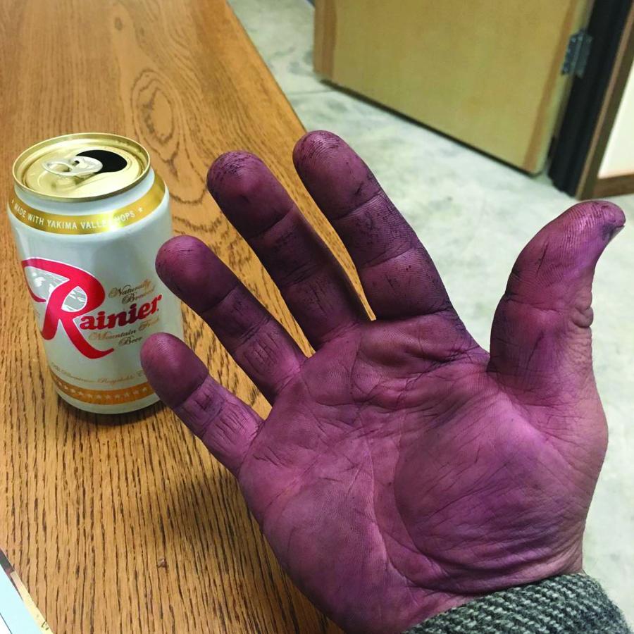 Cody T. Wright (Purple Hands Winery) Harvest 2016