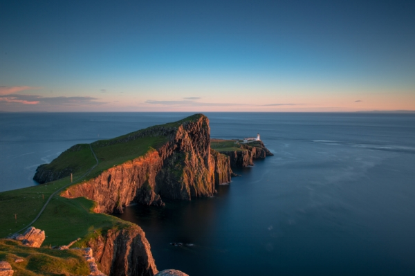 Neist Point during sunset 20/08/2016.