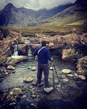 Photographing the Fairy Pools 21/08/2016.