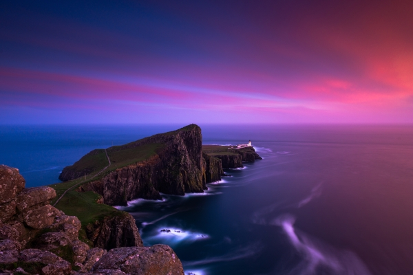 Neist Point during sunset 22/08/2016.
